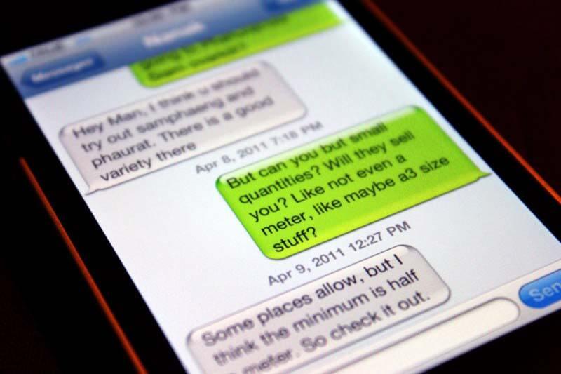 Text Message Interceptors