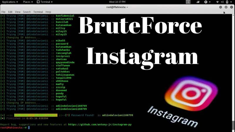bruteforce-instagram
