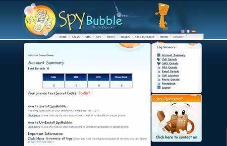 spybubble-dashboard